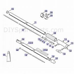 Stihl Fs 55 Brushcutter  Fs55  Parts Diagram  Drive Tube