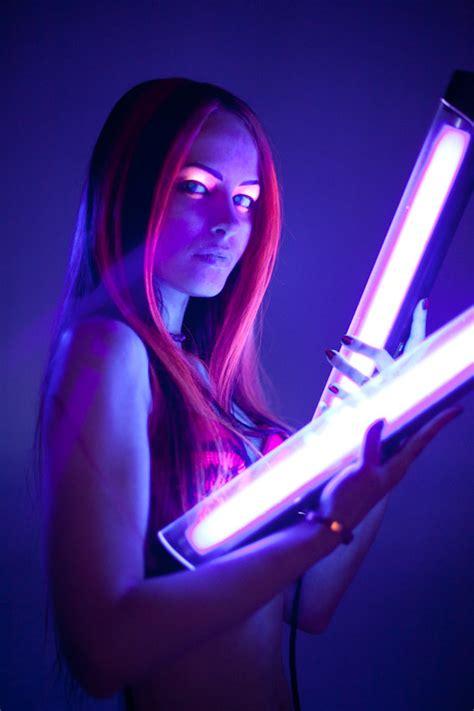 Makeup For Black Lights » Heathyrre Kautz Couture