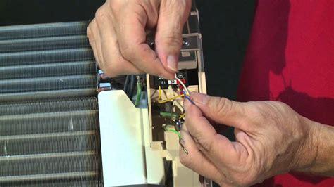 condensate pump installation service video  mitsubishi