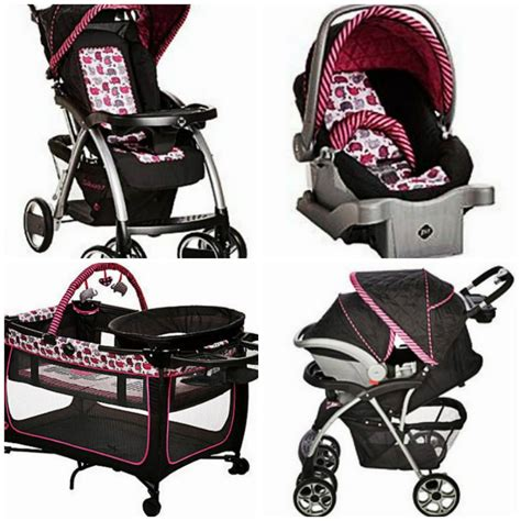 baby stroller set car seat portable playpen  travel