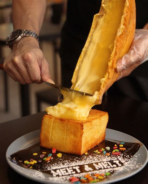 side table for 10 raclette cheese dishes you can get without the risk of