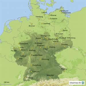 Schönsten Städte Deutschland : besonders sehenswerte st dte in deutschland von maxi76 landkarte f r deutschland alle bundesl nder ~ Frokenaadalensverden.com Haus und Dekorationen