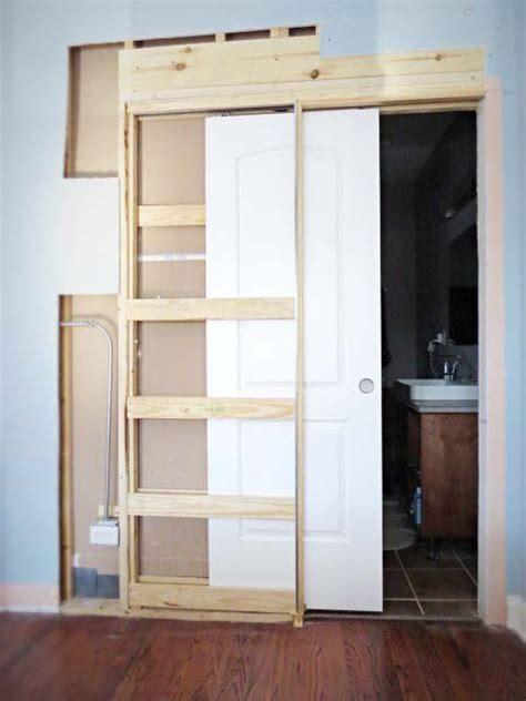Pocket Closet Door by How To Destroy Your Fears Install A Pocket Door Pocket