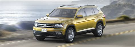 Vw Atlas Size by 2018 Volkswagen Atlas Seating Capacity And Dimensions