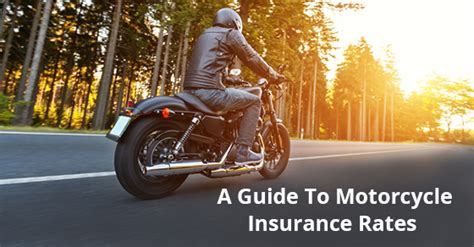 How Are Motorcycle Insurance Rates Determined?