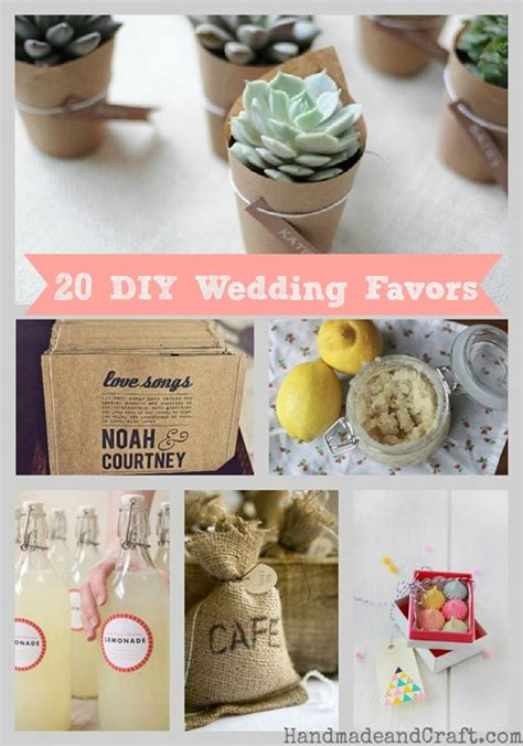 cheap wedding favor ideas 20 diy wedding favors
