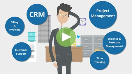 crm project management business process automation