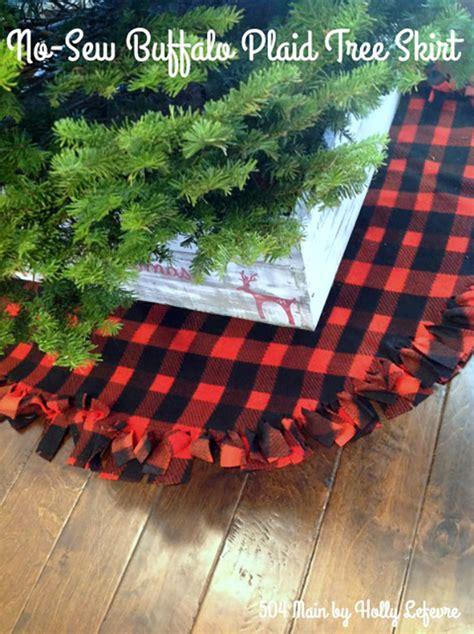 fresh farmhouse diy christmas tree skirts page