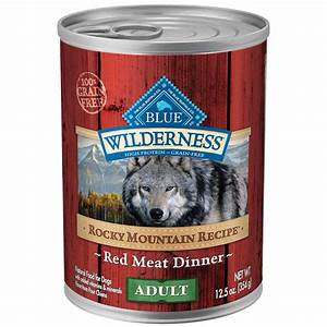 blue buffalo wilderness rocky mountain recipe with red With mountain dog food