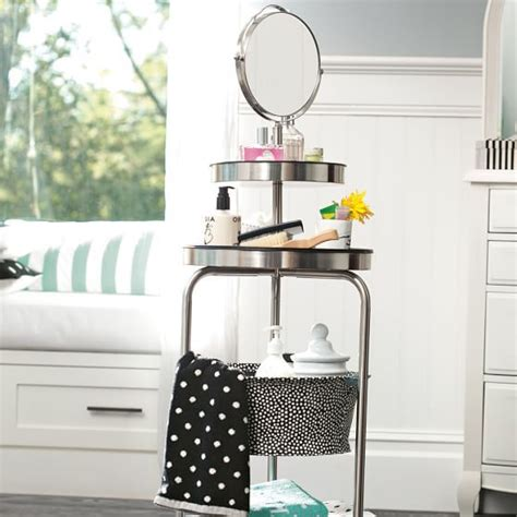 Room Planner Pbteen by Get Ready Stand Dottie Organization Bathroom Stand