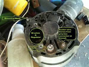 92 Volvo 240 Alternator Wiring Diagram