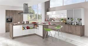 Idee relooking cuisine modele de cuisine moderne avec for Idee deco cuisine avec modele de cuisine moderne en bois