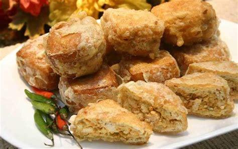 Cara membuat sandwich goreng isi kornet. Tahu Isi Daging Kornet : Tahu Isi Sayur - Laukpauk.id - theburgerqueens-wall