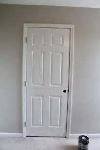 Replace Bedroom Door by Painting Trim And Interior Doors The Story Of Us