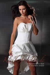 Brautkleid Vorne Kurz Hinten Lang Aus Taft Kleiderfreuden
