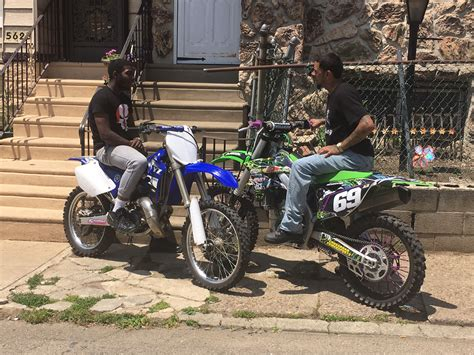 new motocross bikes philly s underground dirt bike community exposed in new