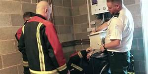 YouTube Prankster Saved By Firefighters After Cementing ...