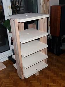 Meuble Hifi Bois : meuble hifi en bois sur mesure le blog du bois ~ Voncanada.com Idées de Décoration