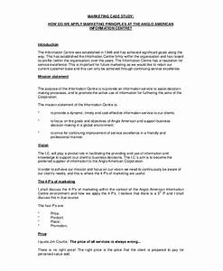 10 case study templates free sample example format With case studies format template