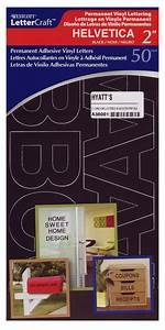 buy lettercraft vinyl letters helvetica black 2in With helvetica vinyl letters