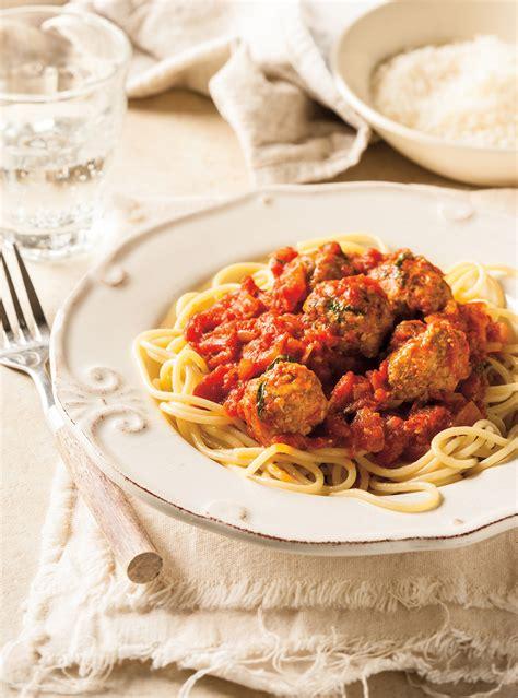 ricardo cuisine tomato sauce with meatballs ricardo