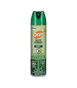 OFF! Deep Woods 624137 Dry Insect Repellent, 113 g, Aerosol Spray