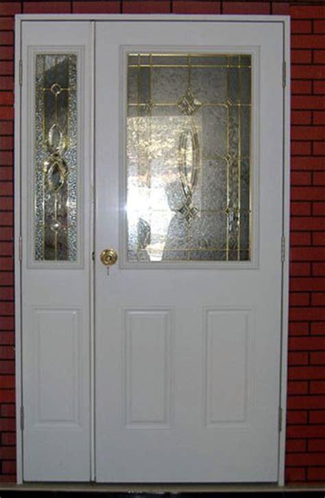 decorative metal glass door half lite glass patio door