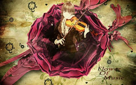 Violin Wallpaper Anime - the violin wallpaper pretty anime wallpaper