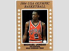 1984 MICHAEL JORDAN USA OLYMPIC BASKETBALL COCAPTAIN GOLD