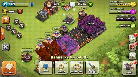 holy clash of clans modded apk unlimited gems
