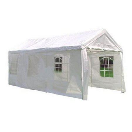 heavy duty white party tent gazebo  sidewalls  walmartcom