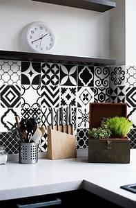 revetement mural adhesif pour cuisine wasuk With revetement mural adhesif cuisine