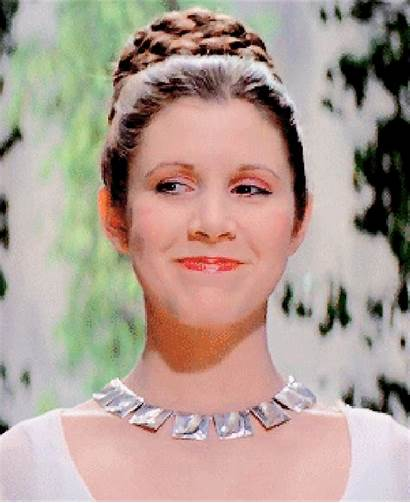 Carrie Leia Fisher Wars Star Princess Organa