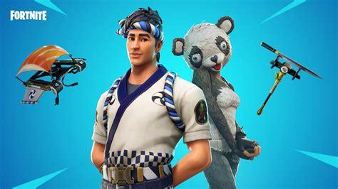 fortnite wallpaper panda team leader skin
