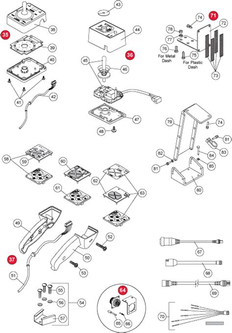western snow plow control components