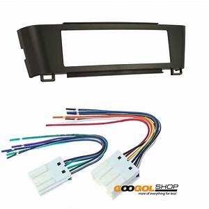 Car Stereo Dash Install Mounting Kit Wire Harness For Nissan Sentra 000 2001 2002 2003 2004 2005