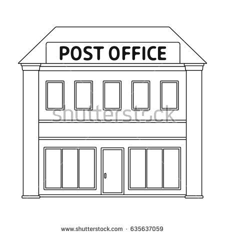 principal039s office clipart black and white saloon flat icon เวกเตอร สต อก 528872059