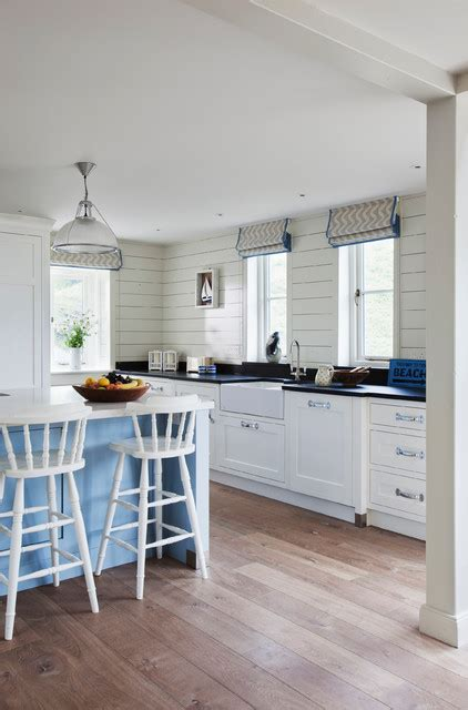 kitchens and bathrooms by design kitchen of the week a calming cornish kitchen with echoes 8774