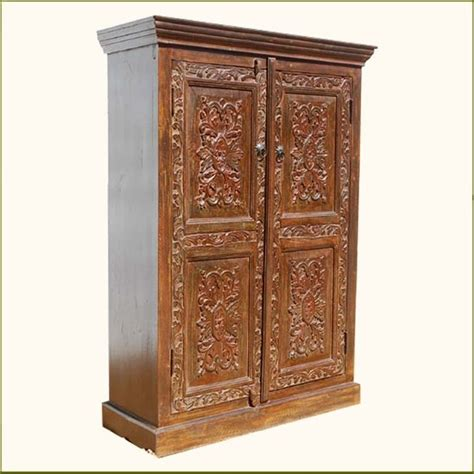 Armoires And Wardrobe Closets by 15 Best Of Solid Wood Wardrobe Closets