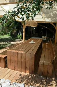 Table Exterieur En Bois : la table de pique nique qui va vous inspirer ~ Teatrodelosmanantiales.com Idées de Décoration