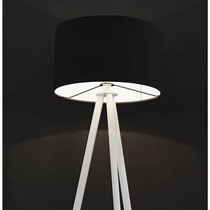 Lampadaire Trepied Blanc : lampadaire trepied noir maison design ~ Teatrodelosmanantiales.com Idées de Décoration