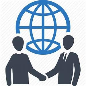 Business deal, global business, handshake, partnership ...