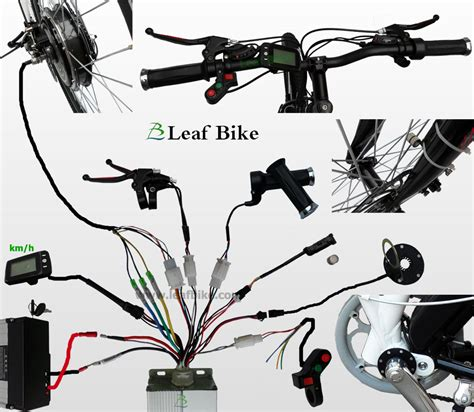 24 inch 36v 750w front hub motor electric bike conversion kit