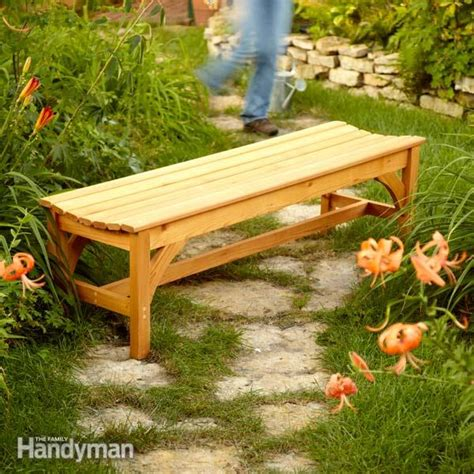 build  garden bench woodwork city