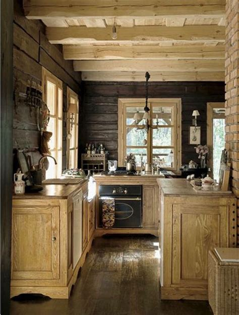 stunning woodland inspired kitchen themes  give  kitchen  totally