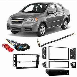Fits Chevy Aveo 2009 Double Din Harness Radio Install Dash Kit 86429164127
