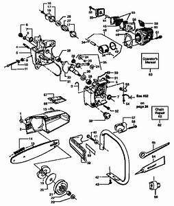 358 355141 Craftsman Gas Powered Chainsaw