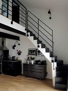 Fabriquer Son Escalier : am nager l espace sous son escalier avec go t visite ~ Premium-room.com Idées de Décoration