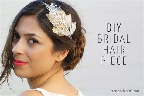 diy hair accessories for wedding diy beaded bridal headband