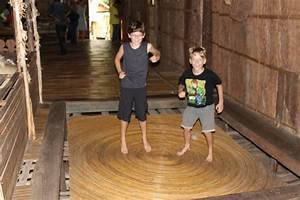 bouncy floor in the long house photo With bouney parquet
